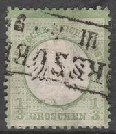 Deutsches Reich    .    Michel    .     2        .       O        .      Gebraucht - Gebraucht