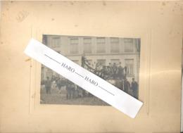 STAVELOT - Photo Sur Carton - Char Sur La Place Du Marché - Laetare , Carnaval 19000.  (b247) - Lieux