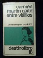 Carmen Martin Gaite: Entre Visillos/ Destino Libro 18, 1987 - Books, Magazines, Comics