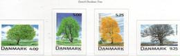 PIA - DANIMARCA -1999 : Flora : Alberi Di Danimarca  - (Yv 1202-05 ) - Danimarca