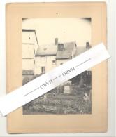 STAVELOT - Photo Sur Carton - Arrière De Maisons +/- 191...? (b247) - Lieux