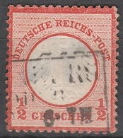 Deutsches Reich    .    Michel    .     3        .       O        .      Gebraucht - Gebraucht