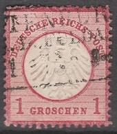 Deutsches Reich    .    Michel    .     4        .       O        .      Gebraucht - Gebraucht