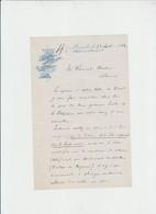 GRAVURE- CHROMO - LITHOGRAPHIE - BECKER - BXL - 1882  - 4 PGES - Imprenta & Papelería