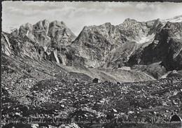 GRUPPO ADAMELLO - RIFUGIO PRUDENZANI - CAI BRESCIA - EDIZ. MICHELETTI - VIAGGIATA DA SAVIORE (BS) 1949 - Alpinisme