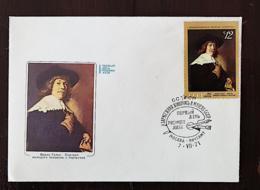 RUSSIE, Peinture, Painting, F. BOL. FDC Enveloppe 1 Er Jour, FDC 07/07/1971 - Arts