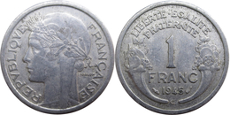 France - GPRF - 1 Franc 1945 C Morlon Légère - France