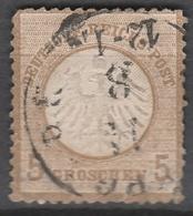 Deutsches Reich    .    Michel    .     6        .       O        .      Gebraucht - Gebraucht