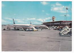 AEROPORTO - AIRPORT - ROMA FIUMICINO  - VIAGGIATA 1975 - Aerodromi