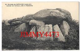 CPA - Dolmen De Kerbour Près De La Madeleine Environs De GUERANDE 44 Loire Inf. - Edit. F. Chapeau N° 89 - Recto-Verso - Dolmen & Menhirs