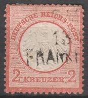 Deutsches Reich    .    Michel    .     8        .       O        .      Gebraucht - Gebraucht