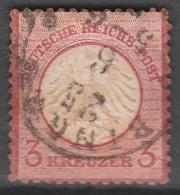 Deutsches Reich    .    Michel    .     9        .       O        .      Gebraucht - Gebraucht
