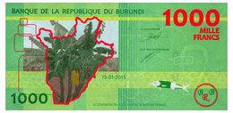 BURUNDI 1000 FRANCS 2015 Pick 51 Unc - Burundi