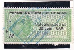 T.F Permis De Chasse N°83 - Fiscaux
