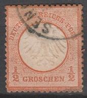 Deutsches Reich    .    Michel    .     14        .       O        .      Gebraucht - Gebraucht