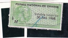 T.F Permis De Chasse N°82 - Fiscaux