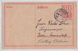 DOLZIG DOLSK POLSKA POSTKARTE 12.12.1921 - Allemagne