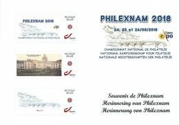 Event-card Philexnam 2018 à Ciney. - 1985-.. Birds (Buzin)