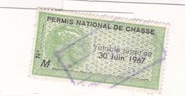 T.F Permis De Chasse N°81 - Fiscaux