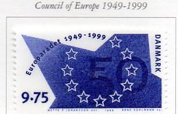 PIA - DANIMARCA -1999 : 50° Anniversario Del Consiglio D' Europa  - (Yv 1214) - Danimarca