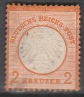 Deutsches Reich    .    Michel    .     15        .       O        .      Gebraucht - Gebraucht
