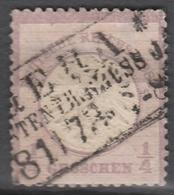 Deutsches Reich    .    Michel    .     16        .       O        .      Gebraucht - Gebraucht