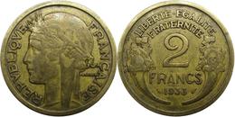 France - Troisième République - 2 Francs 1933 2 Maigre Avers 2 Morlon - France