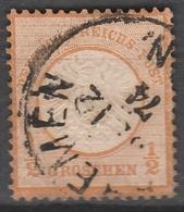 Deutsches Reich    .    Michel    .     18        .       O        .      Gebraucht - Gebraucht