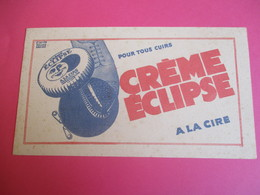 Crème  Cire /Crème Elipse/Pour Tous Cuirs /Roland Ansiau/Assouplit Et Imperméabilise Le Cuir/ Vers 1940 - 1955    BUV315 - Waschen & Putzen
