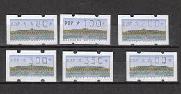 Deutschland  BRD ** Automatenmarken 2.1.1.  VS 1 Katalog 22,00 - [7] República Federal