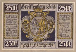 Billet De 25 Pfennig - Greiffenberg. - [ 3] 1918-1933 : République De Weimar