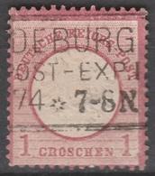 Deutsches Reich    .    Michel    .     19        .       O        .      Gebraucht - Gebraucht