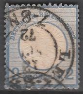 Deutsches Reich    .    Michel    .     20        .       O        .      Gebraucht - Gebraucht