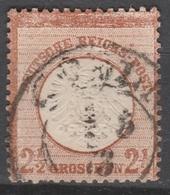 Deutsches Reich    .    Michel    .     21        .       O        .      Gebraucht - Gebraucht