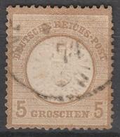 Deutsches Reich    .    Michel    .     22        .       O        .      Gebraucht - Gebraucht
