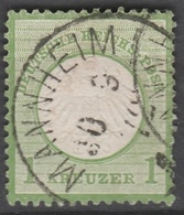 Deutsches Reich    .    Michel    .     23        .       O        .      Gebraucht - Gebraucht