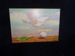 CPM. Tableau De Magritte .Voir 2 Scans. - Peintures & Tableaux