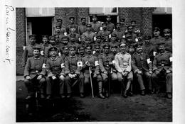 PHOTO ALLEMANDE - OFFICIERS SANITAIRE A RAIMBEAUCOURT PRES DE OSTRICOURT -  DOUAI - NORD GUERRE 1914 1918 - 1914-18