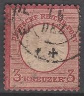 Deutsches Reich    .    Michel    .     25        .       O        .      Gebraucht - Gebraucht