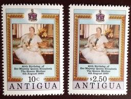 Antigua 1980 Queen Mother MNH - Antigua And Barbuda (1981-...)