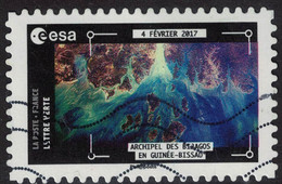 France 2018 Oblitéré Used Thomas Pesquet Archipel Des Bijagos En Guinée Bissau Y&T 1573 - France