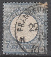 Deutsches Reich    .    Michel    .     26        .       O        .      Gebraucht - Gebraucht