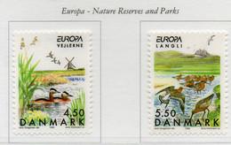 PIA - DANIMARCA  -  1999  : Europa - Riserve Naturali E Parchi    (YV  1214-15 ) - Danemark