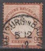 Deutsches Reich    .    Michel    .     27        .       O        .      Gebraucht - Gebraucht