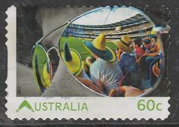 Australia  2011 Living Australian 60c Multicoloured  SW 3068 O Used - 2010-... Elizabeth II