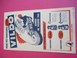 Créme/LION NOIR / Pour Vos Chaussures De Toile / VILDO/ Diéval / Paris/Vers 1940 - 1960    BUV317 - Waschen & Putzen