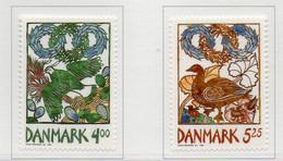 PIA - DANIMARCA  -  1999  : Messaggeri Della Primavera - Uccelli    (YV  1210-11 ) - Danemark