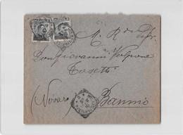 11914 03  VOLPONE TOSETTI DROGHERIA VINI LIQUORI MILANO X BANNIO - 1900-44 Vittorio Emanuele III
