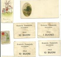 FIGURINE--CARTONCINI  ANTICHI--BUONI--  MISTE  LOTTO - Vecchi Documenti