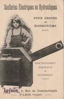 Soufleries Electriques Ou Hydrauliques Pour Orgues Et Harmoniums - Musique Et Musiciens